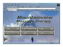Mountainviw Massage Web Page